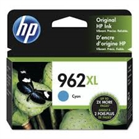 Original HP 962XL High Yield Ink Cartridge, Cyan 3JA00AN