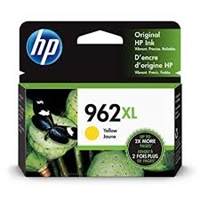 Original HP 962XL High Yield Ink Cartridge, Yellow 3JA02AN