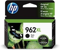Original HP 962XL High Yield Ink Cartridge, Black 3JA03AN