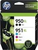Genuine HP 950XL/951 Black/Color Ink Cartridges C2P01FNM