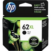 Genuine HP 62XL High Yield Black Ink Cartridge C2P05AN