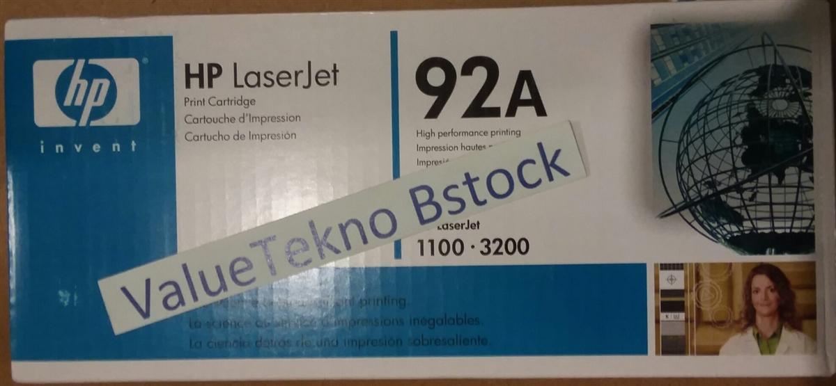 C4092A Black Laser Printer Toner Cartridge for HP 92A