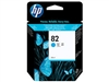 Genuine HP 82, Cyan Ink Cartridge C4911A Bstock