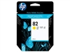 Genuine HP 82, Yellow Ink Cartridge C4913A Bstock