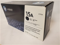 Original HP 15A C7115A Black LaserJet Toner Cartridge (B Stock)