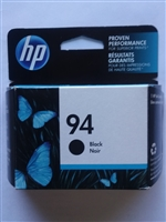 Genuine HP 94 Black Ink Cartridge With Vivera Ink C8765WN Bstock