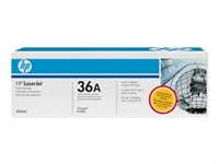 Genuine HP 36A, Black Toner Cartridge CB436A Bstock Blue
