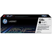Genuine HP 128A, Black Toner Cartridge (CE320A)
