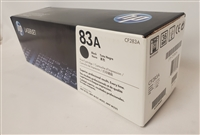 Genuine HP 83A Black Toner Cartridge CF283A Bstock