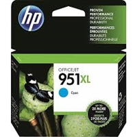 Genuine HP 951XL High Yield Cyan Ink Cartridge CN046AN Bstock