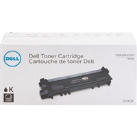 Genuine Dell Toner Cartridge Black CVXGF