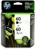 Original HP 60 Black/Tricolor Ink Cartridges N9H63FN#140, Pack Of 2 Bstock