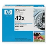 Genuine HP 42X, Black Toner Cartridge Q5942X Bstock Blue