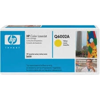 Genuine HP 124A, Yellow Toner Cartridge Q6002A bstock blue