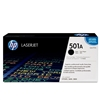 Genuine HP 501A Q6470A Black LaserJet Toner Cartridge