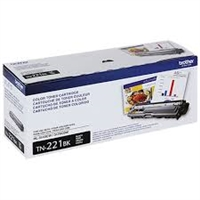 Original Brother TN-221BK Black Toner Cartridge Bstock