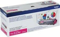 Original Brother TN-225M High-Yield Toner Cartridge, Magenta Bstock