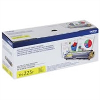 Original Brother TN-225Y High-Yield Yellow Toner Cartridge Bstock