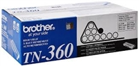 Genuine Brother TN-360 Black Toner Cartridge