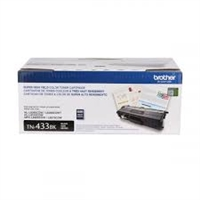 Brother TN433BK High-Yield Black Toner Cartridge