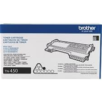 Genuine Brother TN-450 High-Yield Black Toner Cartridge