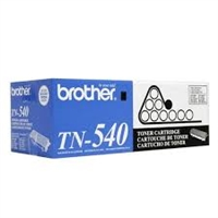 Original Brother TN-540 Black Toner Cartridge Bstock