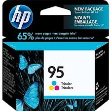 Genuine HP 95 Tricolor Ink Cartridge With Vivera Ink C8766WN