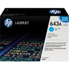 Original HP 643A Q5951A Cyan LaserJet Toner Cartridge