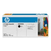 Genuine HP 124A, Black Toner Cartridge (Q6000A) Bstock blue