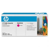 Genuine HP 124A, Magenta Toner Cartridge Q6003A bstock blue