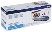 Original Brother TN-221C Cyan Toner Cartridge