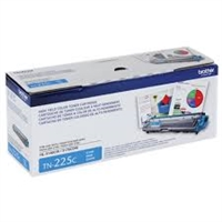 Original Brother TN-225C High-Yield Toner Cartridge, Cyan Bstock