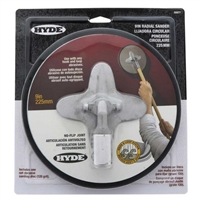 "Hyde 9"" Radial No-Flip Sander Head  (09977)"