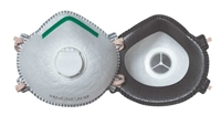 N99 Disposable Respirator w/ Valve 10 PACK