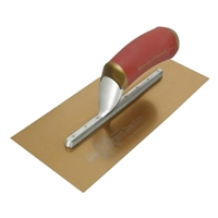"MARSHALLTOWN 14"" X 5"" GOLDEN STAINLESS STEEL DuraFlex Finishing Trowel 14471"
