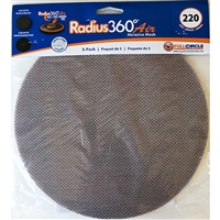 Full Circle 220 Grit Mesh Abrasive for Radius 360 Air – 5 pack