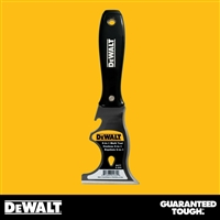 DEWALT 9-in-1 Carbon Steel Putty Knife - Black Plastic Handle - Chrome End