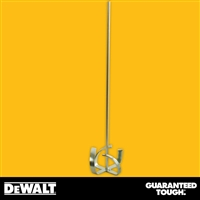 "DEWALT 32"" Pro Mixing Paddle, 7"" Head - Gold Finish  2-292"