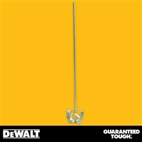"DEWALT 28"" Pro Mixing Paddle, 4"" Head - Gold Finish  2-294"