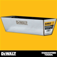 "DEWALT 12"" Stainless Steel Mud Pan - Curved Bottom  2-332"