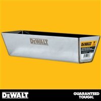 "DEWALT 14"" Stainless Steel Mud Pan - Curved Bottom  2-334"