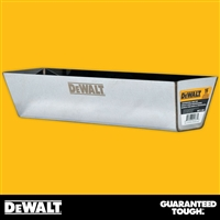 "DEWALT 16"" Stainless Steel Mud Pan - Curved Bottom  2-336"