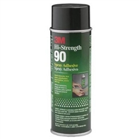 3M Hi-Strength 90 Spray Adhesive Clear 16.25 OZ  SOLD IN 12 CAN QUANTITY  30023