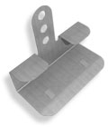 "PREST-ON 5/8"" CORNER BACK ""STUD SAVER"" DRYWALL REPAIR CLIPS  50 OR 300 PACK"