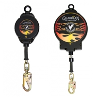 Guardian Fall Protection SRL Velocity 20' HD Galvanized Cable with Carabiner  42001