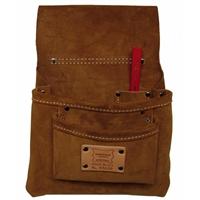Heritage Suede Nail Bag - 3 Pocket 436SP
