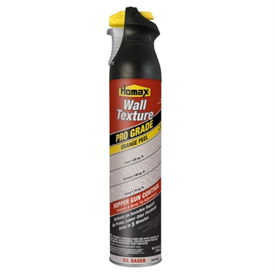 HOMAX Pro Grade Wall Texture, Orange Peel, Oil Based, 25oz  #4555