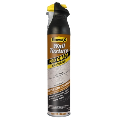 HOMAX Pro Grade Wall Texture, Knockdown, Water Based, 25oz 4565