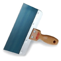 "8"" WALBOARD BLUE STEEL TAPING KNIFE"