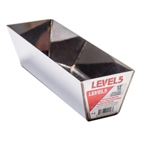 "LEVEL 5 TOOLS 12"" STAINLESS STEEL MUD PAN"